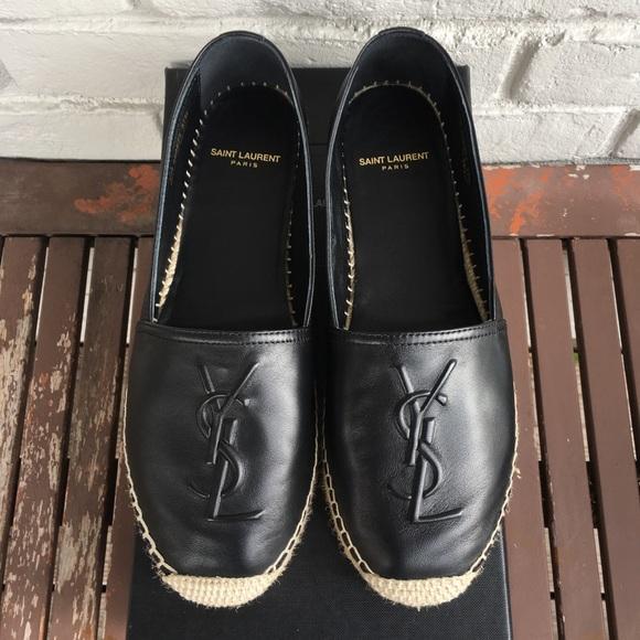 8f497975c Yves Saint Laurent Shoes | Authentic Ysl Espadrilles Size 375 | Poshmark